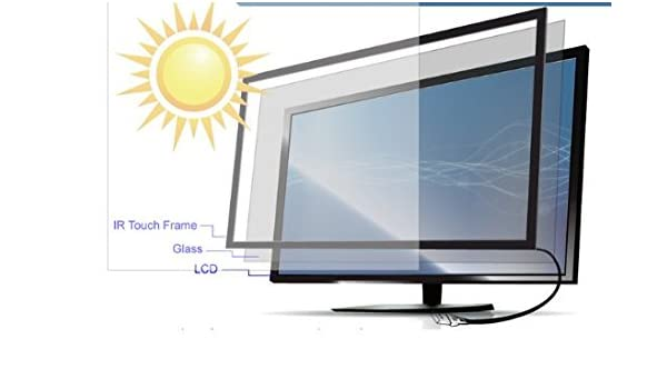 47 inch Infrared Touch Frame, Multi Touch Screen Panel, IR Panel Táctil, monitor, TV. Tea Table.10point Touch Overlay.USB Plug: Amazon.es: Informática