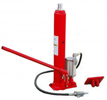 XtremepowerUS 8 Ton Air/Hydraulic Long Ram Jack