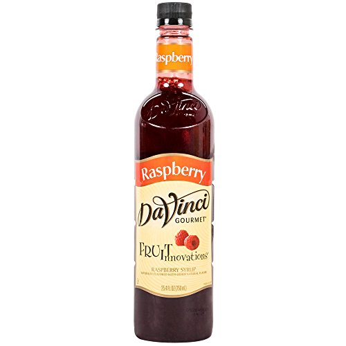 DaVinci Gourmet Fruit Innovations Syrup, Raspberry, 25.4 Fluid Ounce (Syrup Fruit)