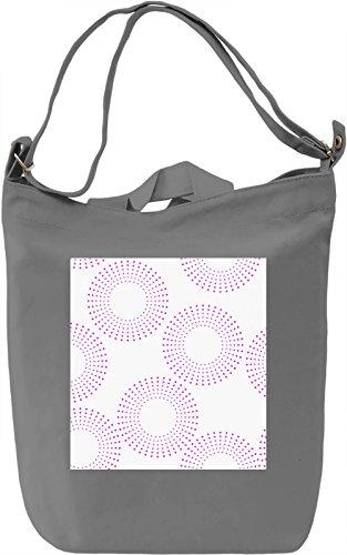 Red Dots Borsa Giornaliera Canvas Canvas Day Bag  100% Premium Cotton Canvas  DTG Printing 
