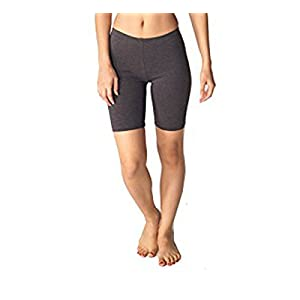 Spalding Womens 7-Inch Bike Short (S, Charcoal)
