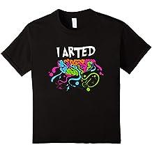 art T Shirt creative painting artist creative art