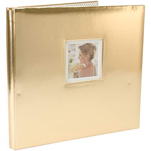 (K&Company 30-706460 Foil Post Bound Window Album 12