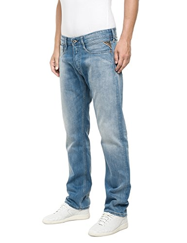 Uomo blue Replay Blu Jeans 010 Denim Newbill wqgnFfS