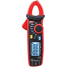 UNI-T UT210E True RMS Clamp Meter 100A AC/DC Current Testers Non-connect Voltage Test Resistance Capacitancy Auto Range Digital Multitesters