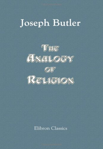Download The Analogy of Religion pdf