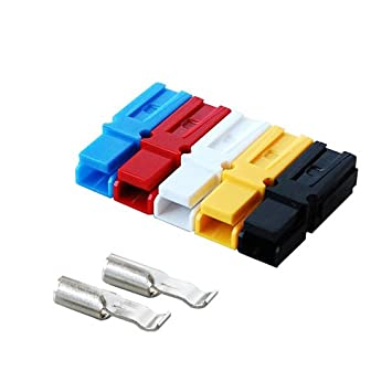 ,for 20-16AWG,BMC1S-1-E 2 Pieces Set60;YELLOW62; Battery Connector Single-type 15A