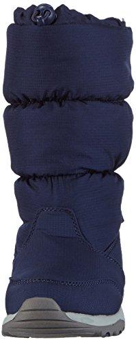 Kamik BOMBSHELL Unisex-Kinder Warm gefütterte Schneestiefel Blau (NAV-NAVY)
