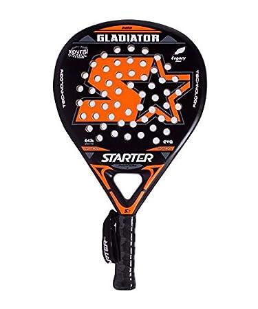 Starter 44ST0715 Pala Gladiador de Pádel, Blanco, S: Amazon.es ...