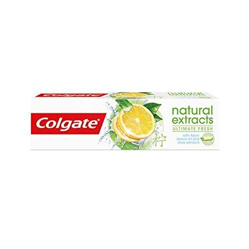 Lemon Natural Toothpaste - Colgate Natural Extracts Ultimate Fresh Toothpaste 75 ml/2.5 oz