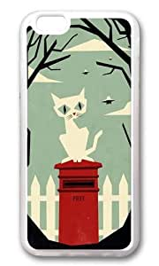 Apple Iphone 6 Case,WENJORS Awesome Lets meet at the red post box Soft Case Protective Shell Cell Phone Cover For Apple Iphone 6 (4.7 Inch) - TPU Transparent