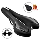Best Comfortable Bike Seats - SGODDE Comfortable Bike Seat, Gel Bicycle Saddle Padded Review