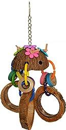 Super Bird Creations Coco 3 Slice Toy for Birds