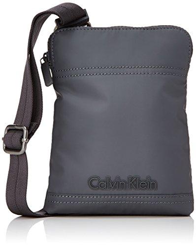 Calvin Klein Metro Mini - Cartera para hombre Gris (castlerock)