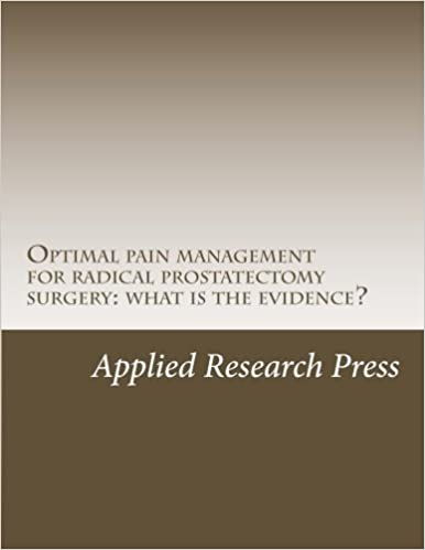 Book Optimal pain management for radical prostatectomy surgery: what is the evidence?