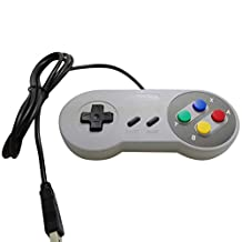 Classic SNES USB Controller Super Joypads for Nintendo Gaming Handle Gamepads Joypad Joystick for Win PC/MAC Plug and Play