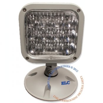 LFI Lights - 3.6V Single LED Remote Head Emergency Light - Wet Location - RHBWPL1 (Emergency Lights Wet Location compare prices)