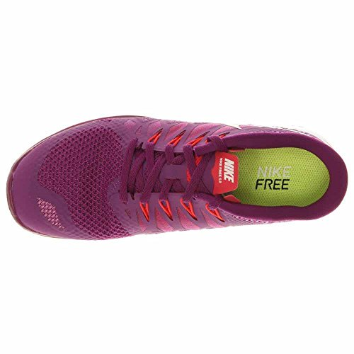 LEGION Damen 600 WHITE BRIGHT SHADE RED 642199 Wmns Nike 5 VIOLET GRAPE Laufschuhe Free 0 xqwg7YFY