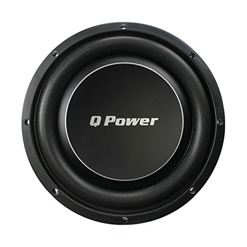 "Qpower QPF12DFLAT Deluxe 12"" Flat Subwoofer"