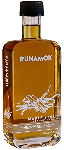 Runamok Maple - Cinnamon+Vanilla Infused Organic Maple Syrup - ()