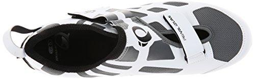 Pearl Izumi Tri Triathlon Carbon Fly V Scarpe Uomo Bianco (White)