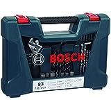 Jogo V-Line Titânio 83 Peças, Bosch, 2607017403-000, Azul
