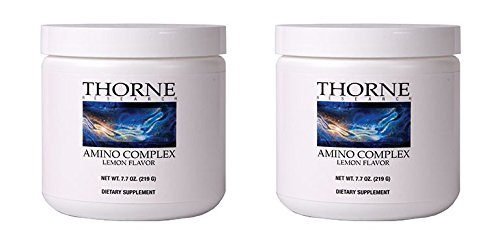 Thorne Research - Amino Complex - Lemon Flavor - 7.7 oz - 2 Pack