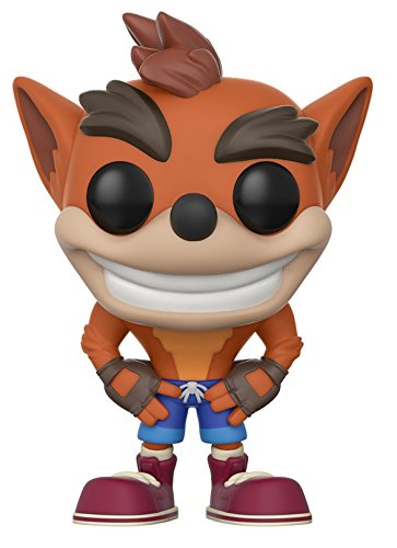 Funko POP! Games: Crash Bandicoot - Crash Bandicoot (styles may vary)