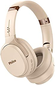 Fone de ouvido, Conexão Bluetooth 5.0, 150mW, Concha almofadada, PFO01BTG, Rose gold, Philco