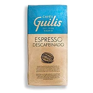 CAFES GUILIS DESDE 1928 AMANTES DEL CAFE - Caffè Decaffeinato in grani - Alta qualità chicchi di caffè i 100% Arabica 1…
