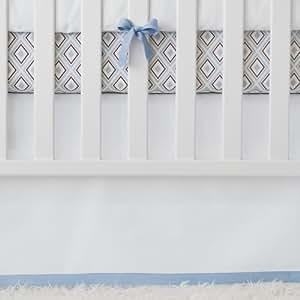 Amazon Com Serena Amp Lily Basics Crib Skirt Chambray