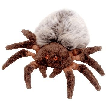 Amazon.com  Ty Beanie Babies Hairy the Spider  Toys   Games 2c23b7f2ef