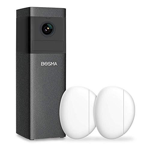 BOSMA X1 IPCamera with 2 Pack Door/Window Sensors