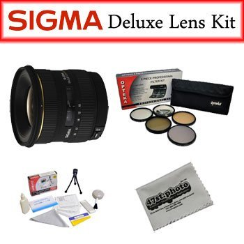 Sigma Lens Bundle for Canon Featuring Sigma 10-20mm f/4-5.6