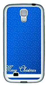Samsung Galaxy S4 Case and Cover - Merry ChristmasTPU Silicone Rubber Case Cover for Samsung Galaxy S4 / SIV/ I9500 - White