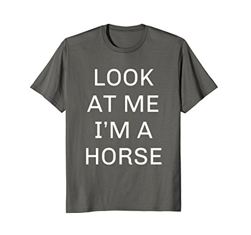 I'm a Horse Halloween Shirt Funny Costume for Kids Adults