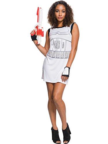 [Rubie's Adult Star Wars Stormtrooper Rhinestone Costume Dress Set, Large] (Womens Storm Trooper Costumes)
