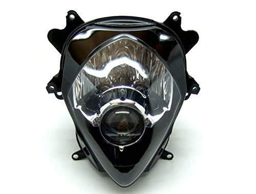 Clear Motorcycle Racing Sport Headlight Street Fighter Motor Parts & Accessories Headlight Lamp Housing Fairing Signal Fit For Suzuki 2007-2008 GSXR1000