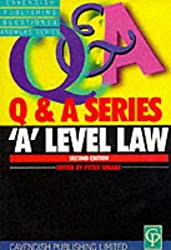 'A' Level Law Q&A (Questions & Answers)