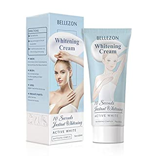 Whitening Cream Skin Lightening Cream, for Armpit, Knees, Elbows, Sensitive and Private Areas, Whitens, Nourishes and Moisturizes the Skin (1 Fl Oz)