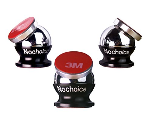 Nochoice Magnetic Car Mount Kit for Cell Phones with 3 Magnets and 3 Balls (Samsung S3 Mini Batman Case compare prices)