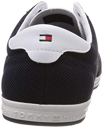 403 Detail midnight Hilfiger Tommy Hombre Flag Azul Essential Sneaker Zapatillas Para 6A4H4nfRWO