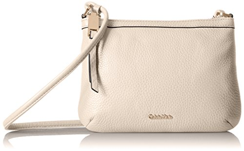 Calvin Klein Carrie Pebble Key Item Crossbody ()