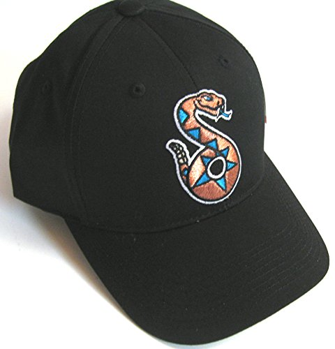 Tucson Sidewinders Outdoor Cap Black Youth Adjustable Minor League Hat