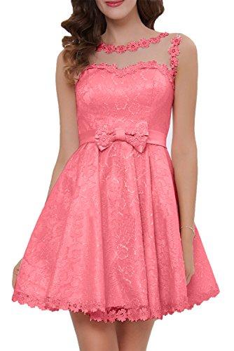A Brautbegleiterin Cocktailkleider Hochzeit Linie Fest Heimkehrkleider Wassermelone Beliebt Ivydressing Abendkleid Damen Party qxwXzHFF0