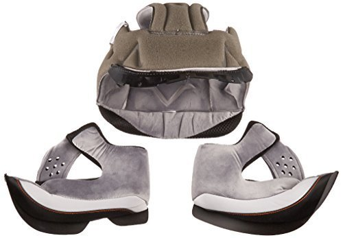 Vega Insight Replacement Full Face Helmet Extreme Comfort System Liner (Gray, Large) Size: Large Color: Gray, Model: 94-6814, Car & Vehicle Accessories / - Malls Vegas
