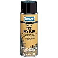 Sprayon T.F.E. Dry Lubes - 16-oz. t.f.e. dry lube (Set of 12) by Sprayon