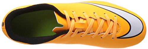 Nike Mercurial Vortex II FG hommes, cuir lisse, lacet
