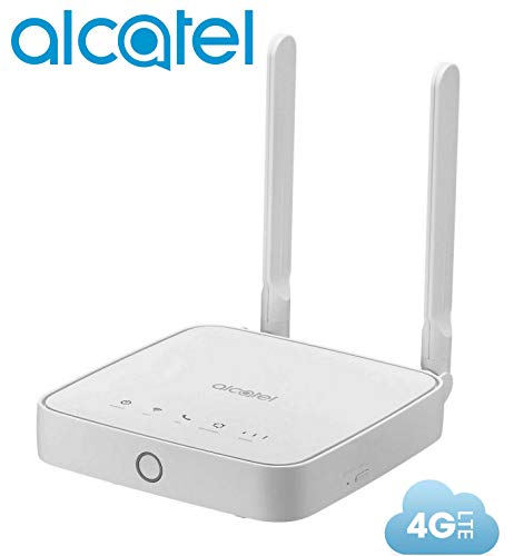 Router Alcatel Link Hub 4G LTE Unlocked Worldwide HH41NH Multibam 150 Mbps Wi-Fi (4G LTE USA Latin Caribbean Euro Asia…
