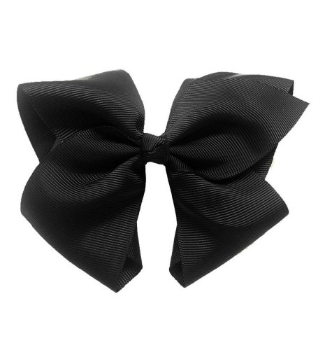 Clip - Extra Large Bows with Alligator Clips by CoverYourHair ()